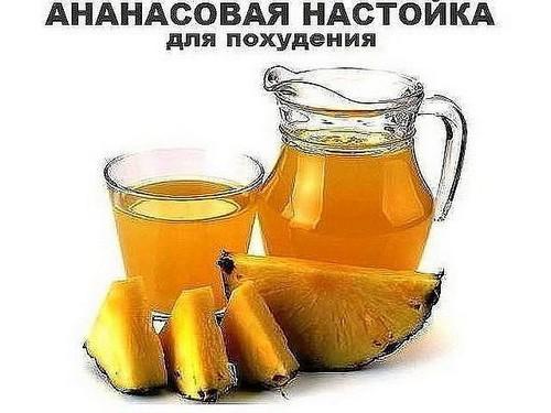 Настойка с ананасом