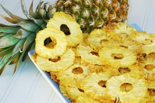 Сушеные ананасы