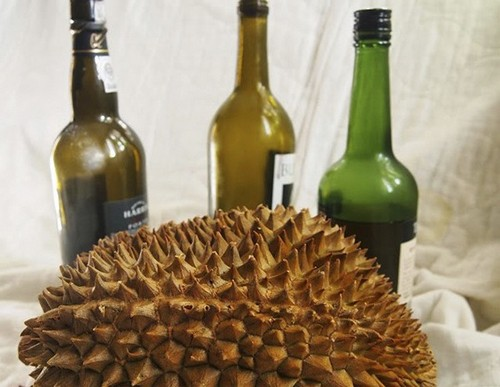 Дуриан и алкоголь опасно