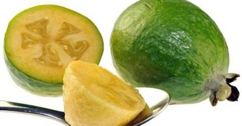 Фейхоа плод спелый