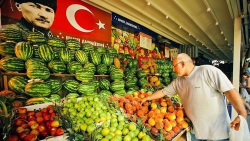 Фрукты в Турции