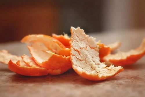 Корки мандарина