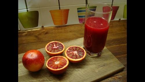 Польза красного апельсина