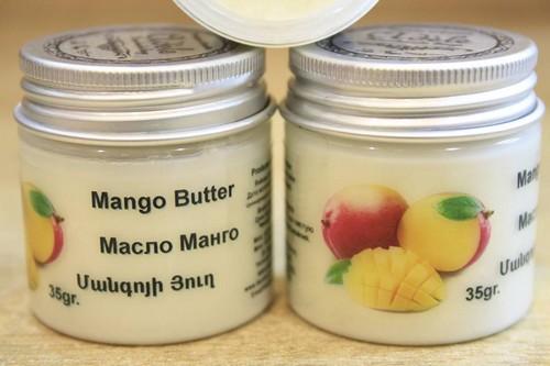 Масло манго в баночке