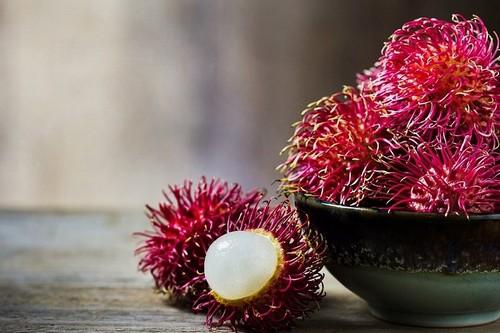 Рамбутан плод