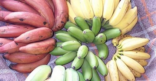 Разные бананы