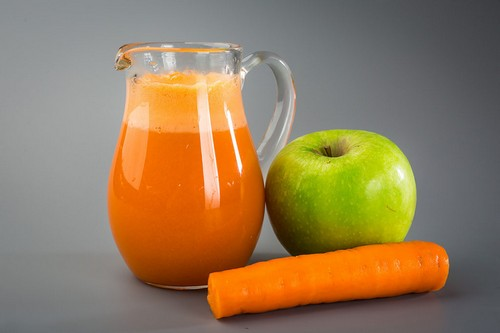 Сок яблочно-морковный
